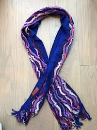 Missoni Scarf Blue and Purple Toronto, M5P 3L6
