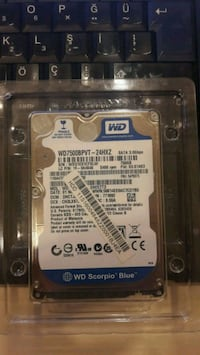 WD 750GB 3GBps Laptop Hard Disk 8410 km