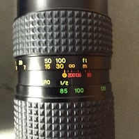 Camera lens. Osawa. Don't know any more about this lens, sorry.  London, N6E 2A1