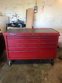 red Snap-on tool cabinet Montclair, 91763