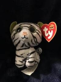 """Collectible Ty white Tiger """"Blizz"""""""