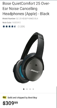 Bose Noise Cancelling Headphones - SEALED
