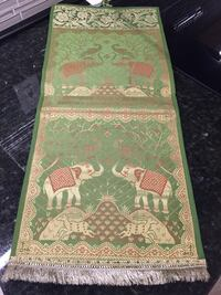 """Two pockets elephant postcards or envelopes holder. Each pocket is about 10""""by 10"""" Lutherville Timonium, 21093"""