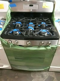 black and gray gas range oven Baltimore, 21223
