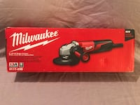 """Brand new in the box Milwaukee 13 amp 5"""" small grinder, with side lock and speed dial  Vacaville, 95687"""