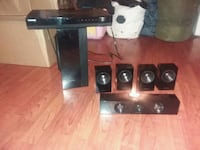 Samsung 6 speaker home theater system with player  Madison Heights, 24572