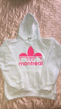 White Montreal Hoodie!! Mississauga, L4X 2T2
