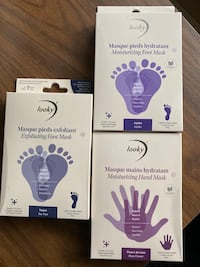 "Masques pieds et mains ""Looky"" hand and feet masks (x3)  Longueuil, J4V"