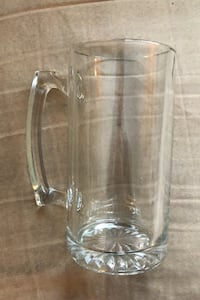 4 nice glass mugs  Edmonton, T5C 2W6