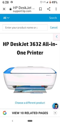 HP desk jet printer with docking stations  Omaha, 68134