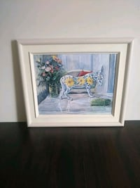 Artist Marie Jackson Original Painting The Flowered Donkey. Newmarket, L3Y 8J5