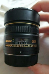 Nikon fisheye lense 10.5mm f2.8 758 mi