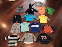 Baby boys clothing ( mix 6-12m size) various brands (mexx/gap/Gymboree/Carters) Langley, V2Y 0C6