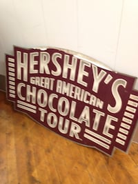 Rare Hershey's Sign. Bloomfield, 07003