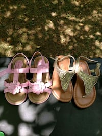 Toddler size 7 sandals (2 pairs) Middle Grove, 12850