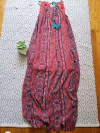 Beautiful tribal print maxi dress