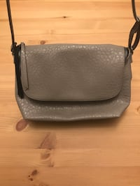 Grey  leather bag Occoquan, 22192