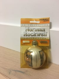 Norman Rockwell collector's Christmas ornament Delta, V4K