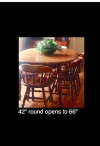 Dining table and chairs Mount Airy, 21771