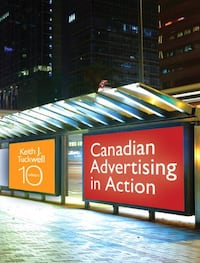 Canadian Advertising In Action (Book) Brant