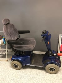 Blue and black mobility scooter Arcadia, 91006
