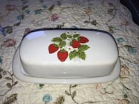 McCoy Stawberry Butter dish