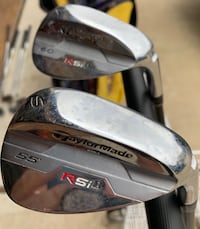 Taylor Made RSi 55 degree S Wedge & 60 degree L Wedge League City, 77573