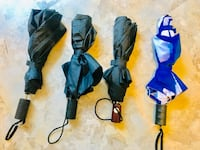 4 umbrellas for sale