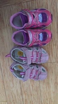 Toddler girl's sneakers and sandals size 8 Niskayuna, 12309
