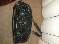 black leather 2-way bag Suitland-Silver Hill, 20746
