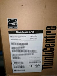 10 boxes of thinkcentre A70z  Ashburn, 20147