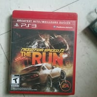 PS3 game need for speed  Winnipeg, R3B 2S6