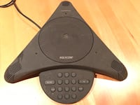 A steal! A Polycom Conferencing Phone.  Chicago, 60657