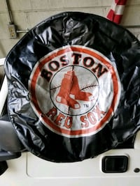 Red Sox tire cover