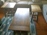 Coffee table and 2 end table s Coventry, 02816