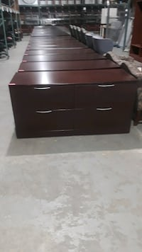 4 drawers lateral file cabinets used normal wear