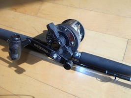 Fishing rod reel Orleans, Trollet, casting