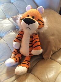 """Almost Hobbes"" tiger plush toy Los Angeles, 90045"