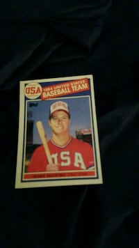 Topps baseball player trading card Kings Park, 11754