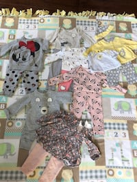 Baby girl outfits /6-9 months