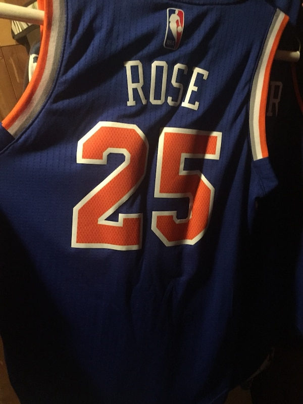 innovative design 8bd26 e7938 D. Rose knicks Jersey