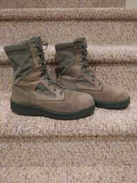 Men's Size 8.5 w WELLCO Air Force Boots can use for Work Boot WATERPRO Woodbridge, 22193