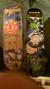 twobrown and black skateboards Hamilton, L9H 5E2