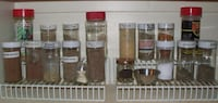 Set of 2 spice shelves (pre-owned) spice jars not included null