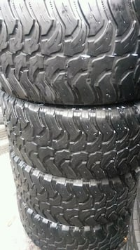 Matching Set Of 35X13.50R20LT Mud Tires Naples, 34120