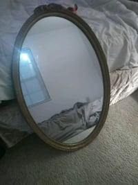 Large oval Mirror 18 mi