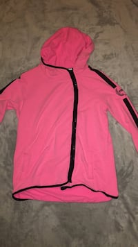 pink and black zip-up hoodie Oakville, L6H
