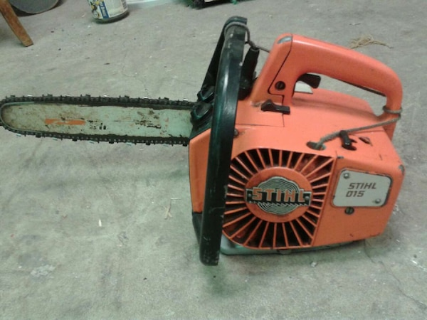 Old Stihl 015 Professional Climbing Chainsaw