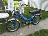 blue and white motorized bicycle Brookfield, 60513