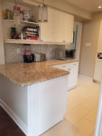 Kitchen with Granite Countertop Markham